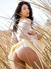 Jelena Jensen gets naked out in nature